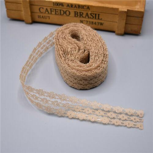Beautiful 10 Yards 25mm wide Net Cord embroidery lace clothing trim decoration