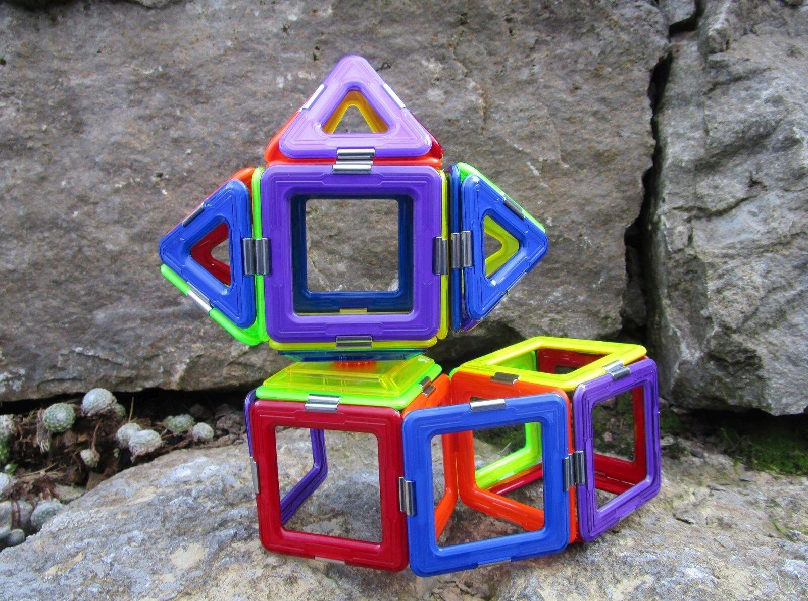 Original geosmart 31 piezas imán formas Colors de arco iris calidad superior geo 210