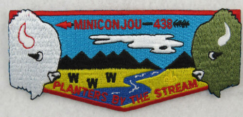 OA Lodge 438 Miniconjou S13 Flap cut-edge PB MS684