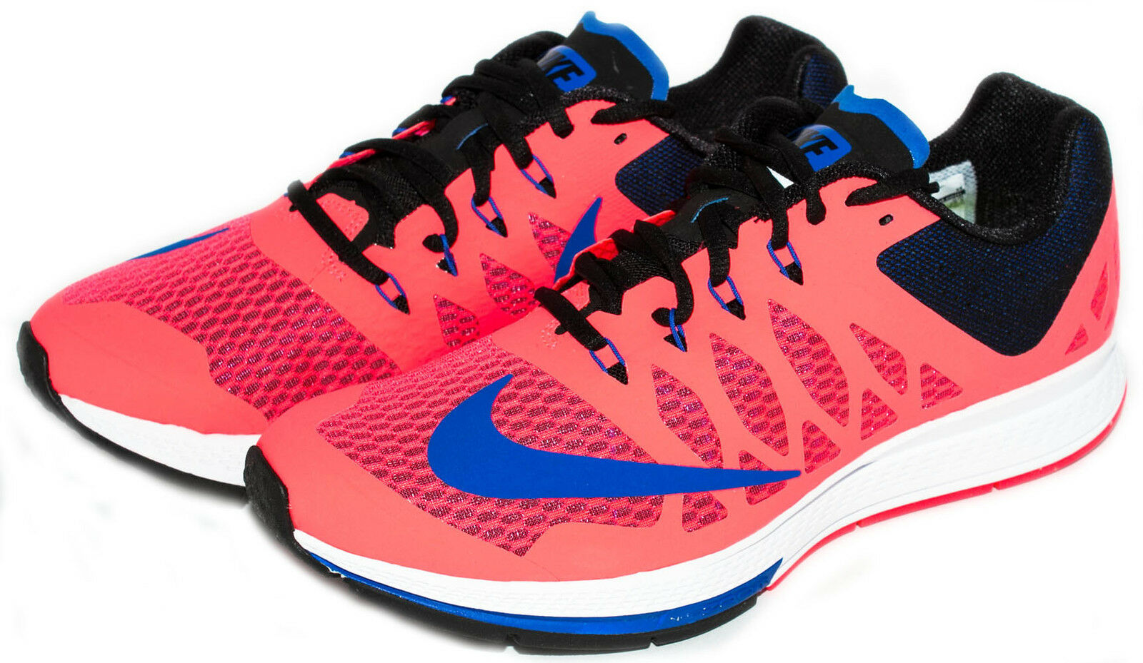 Nike Air Zoom Elite 7 Men's Running shoes Hyper Punch Cobalt 654443-600 sz. 8-11