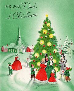 Vintage american greetings christmas card victorian carolers w image is loading vintage american greetings christmas card victorian carolers w m4hsunfo