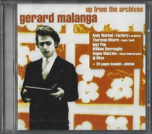GERARD-MALANGA-UP-FROM-THE-ARCHIVES-WILLIAM-BURROUGHS-THURSTON-MOORE-WARHOL-CD