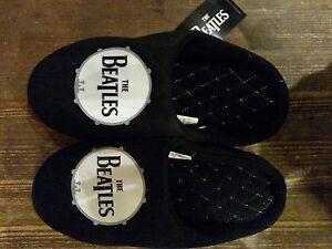 Beatles-Drum-Mens-Mule-Slippers-pantoffels-New-with-label