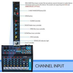 Pyle PMXU83BT 8-Ch. Bluetooth Studio Mixer - DJ Controller Audio Mixing Console System Toronto (GTA) Preview