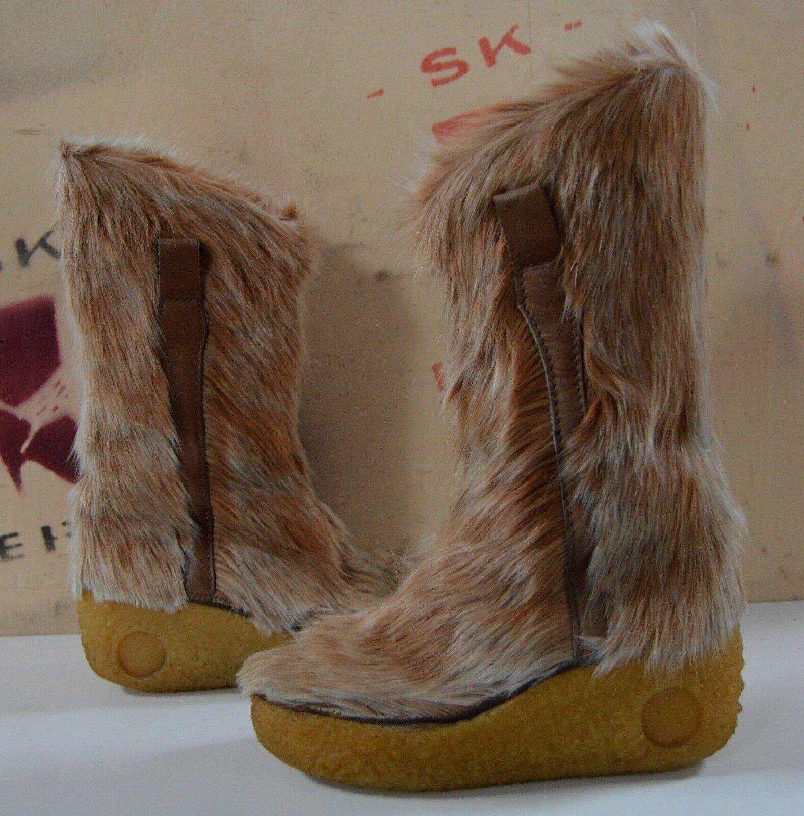 Grandes zapatos con descuento Fellstiefel Winterstiefel TRUE VINTAGE Boots Keil Yeti Boots Stiefel Fell wedges