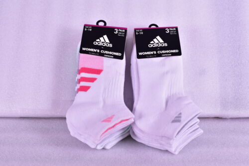Choose Color Women/'s Adidas Cushioned Low Cut socks 3 Pair