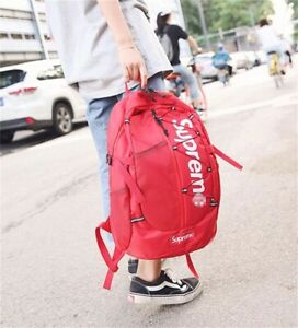2020-NEW-Supreme-17ss-Backpack-Waterproof-Box-Logo-Mountaineering-Bags-Travel
