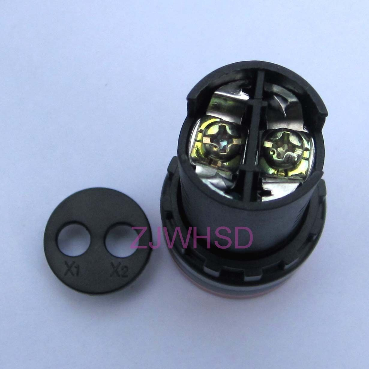 Signalgeber LED 220VAC//DC IP40 D22mm akustisch 80dB Bel 1 st