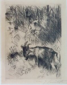 Lovis-Corinth-Original-Etching-Pencil-Signed
