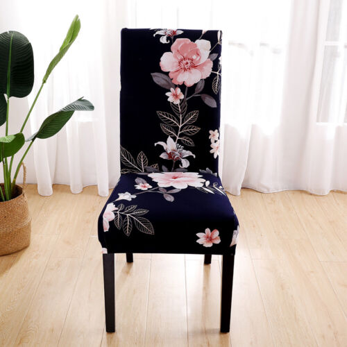 Stretch Chair Covers Slipcovers Dining Room Wedding Banquet Floral Decor Seats