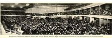 Auditorium-Schumann Heink Concert-Denver-Colorado-Elongated Vintage Postcard