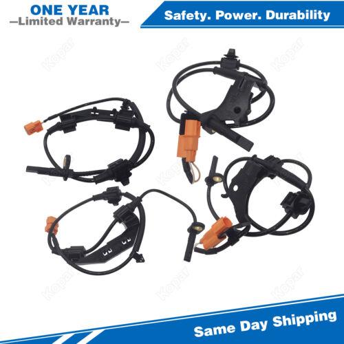 4PCS Front /& Rear ABS Wheel Speed Sensor For 2003-2011 Honda Element 2.4L