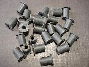 "25 pcs GM 8-32 rubber well nuts 1/2"" length 5/16"" hole 347065 Oldsmobile Pontiac"