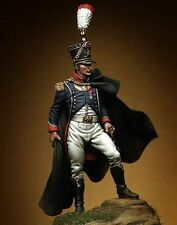 Pegaso Models 54mm France Grenadiers 1815 Young Guard Officer Figure Kit #54-240