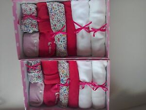Baby Shower Gifts High Street ~ Twin baby girl gift boxes high street clothes baby shower