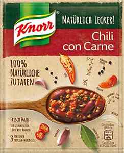 5 x Knorr Fix for Chili con Carne 100% natural ingredients ! New ... | {Knorr fix 87}