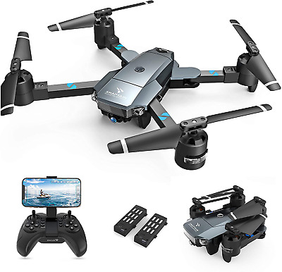 SNAPTAIN A15H Foldable Drone with 1080P HD Camera FPV WiFi RC Quadcopter for Beg  | eBay