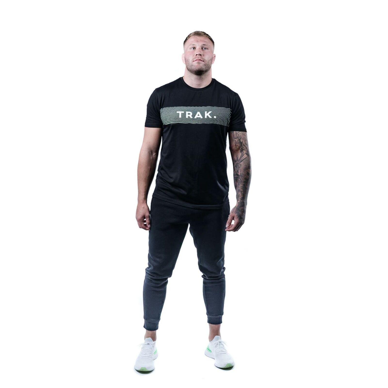 Trak Athletic Men's Carbon Print T-Shirt | Black