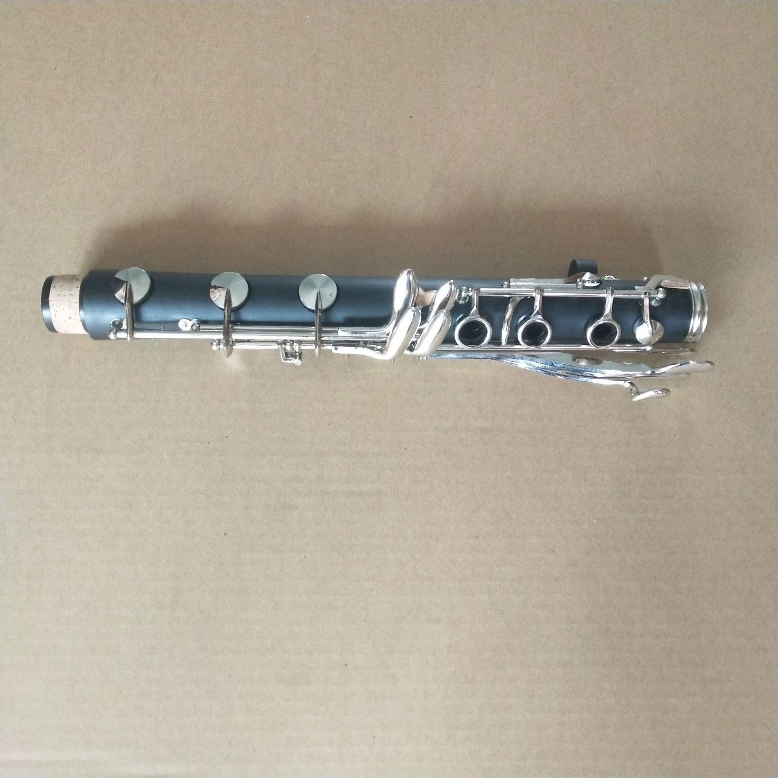 Clarinete francés tono G Goma Dura Niquelar buen material y y y sonido 70d63b