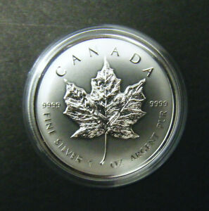 2014-Canada-5-1oz-Reverse-Proof-Silver-Maple-Leaf-Coin-9999-fine-Canadian