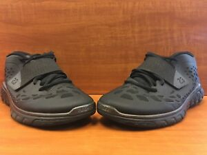 73ce893201b2 Nike Air Jordan Flight Flex Trainer 2 Black Black  768911-010 Men s ...