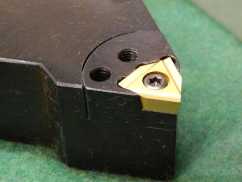 "Komet 1.25/"" Square Shank Lathe Turning Tool R.B UNC 1.250-G-L w// New Insert"