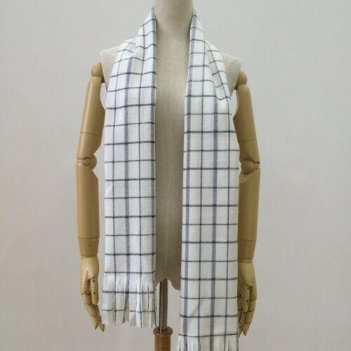 Anime Fairy Tail Natsu Dragnee Cotton Scarf Cosplay Black White Grid Fashion US