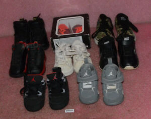 Details about Lot of 8 Infant Shoes Jordan Nike Adidas Vans Sizes 3C 4C 5C 4K Toddler 4.0