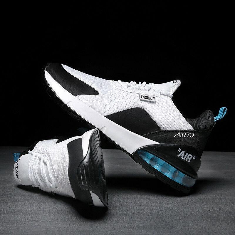 Men's Air Cushion Jogging Outdoor Running Sport Athletic Sneaker Max 270 shoes R