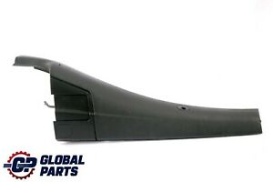 BMW 3 Series E46 Convertible Lateral Trim Panel Top Rear Right O/S Cover Black