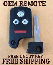 ACURA RL smart key keyless remote transmitter ACJ8D8E24A04 W//UNCUT INSERT D-2