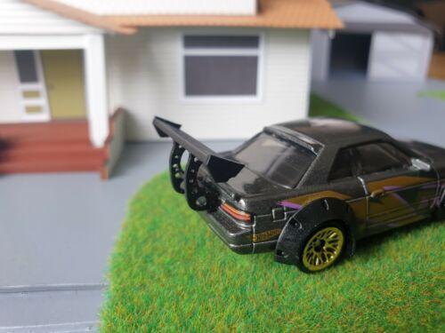 1:64 Scale Clear Resin Printed Rocket Bunny Spoiler Hot Wheels custom