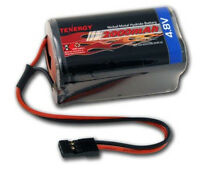 Tenergy 4.8V 2000mAh Square Receiver RX NiMH Battery Pack for RC Airplanes