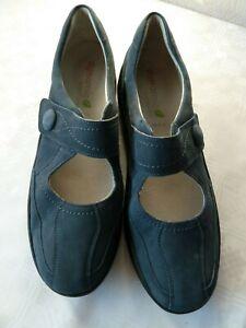 half off a2fa5 217b4 Details zu Waldläufer Dynamic Schuhe,Sneaker blau.Gr.4,5 / 37,5,Weite  H,Klettverschluss