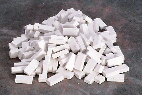 Maison de Poupée Miniature Blanc Colorée Briques In 1:12 Échelle