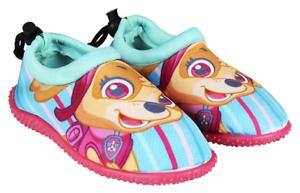 Paw Patrol Girls Aqua Surf Beach Water Shoes