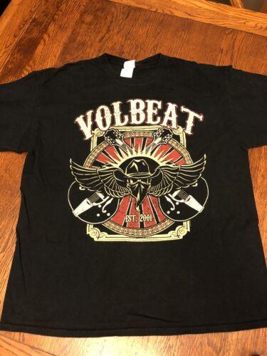 Volbeat U.S. Tour 2014 Shirt Sz XL