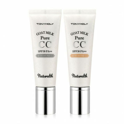[Tonymoly] Naturalth Goat Milk Pure CC Cream SPF30 PA++ 40g