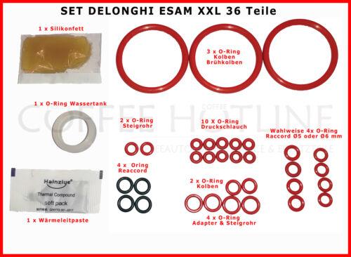Set Joints DELONGHI ESAM Magnifica Primadonna O-Ring JOINTS 36 pièces