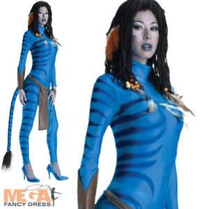 Belicosos-Avatar-Damas-Vestido-Elaborado-Disfraz-De-Fiesta-Halloween-para-adulto-de-la-pelicula-UK-6