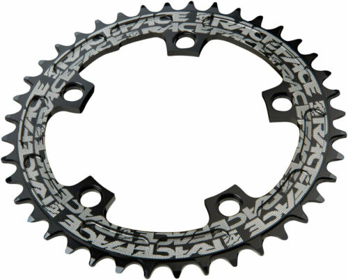 Narrow Wide Black Chainring RaceFace Narrow Wide Chainring: 110mm BCD 38t