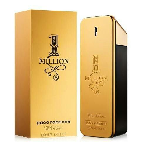 1 Million by Paco Rabanne Eau De Toilette Spray 3.4 oz