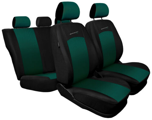 full set green black sport style Car seat covers fit Volkswagen Caddy