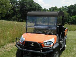 roof hard windshield combo for kubota rtv x1120d x900. Black Bedroom Furniture Sets. Home Design Ideas