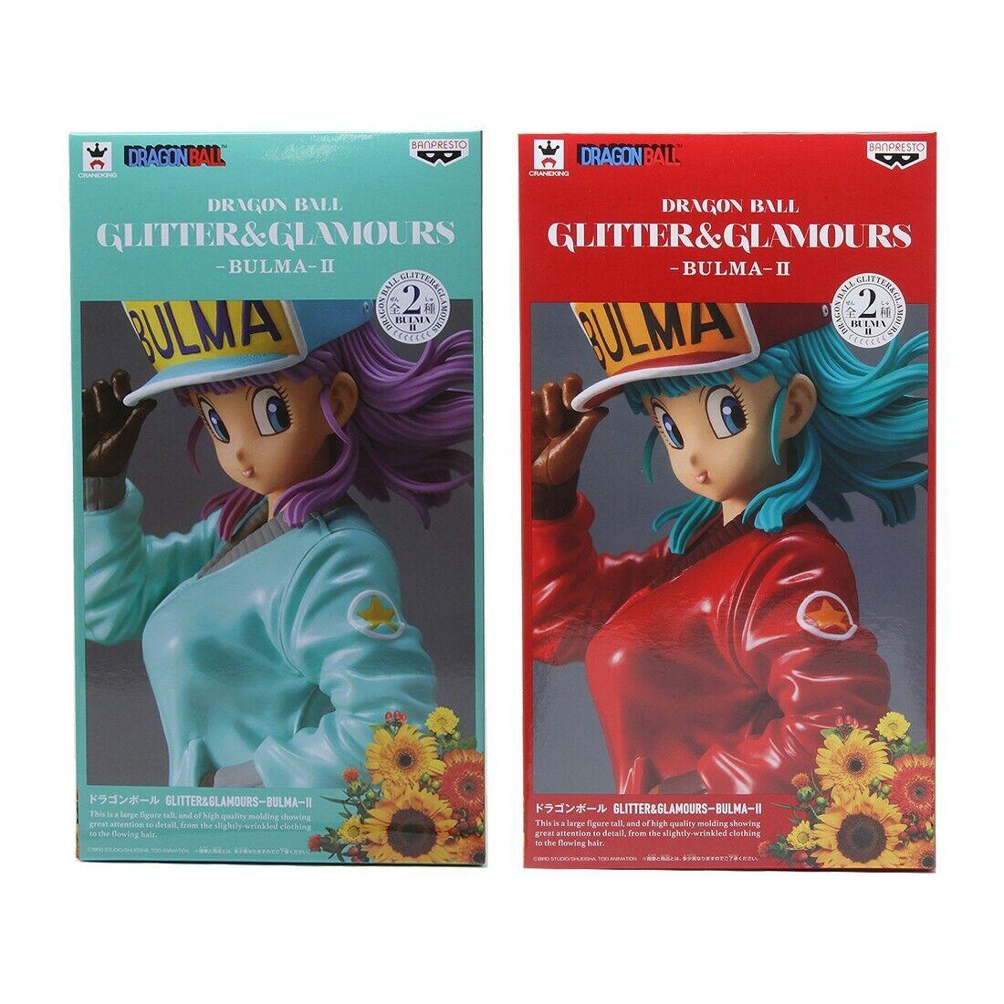 Banpresto Dragon  Btutti Glitter e Glamours Bulma Vol. 2 cifra Set  ordina ora goditi un grande sconto