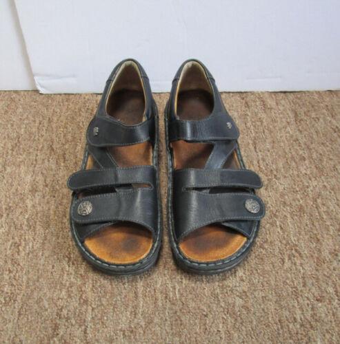 Finn Comfort Gomera Women's Black Leather Strap Sa
