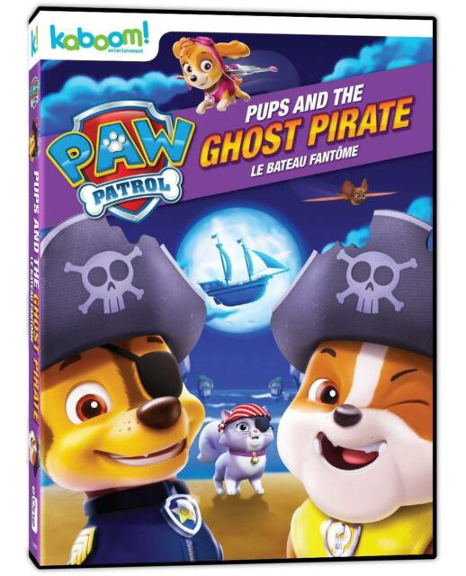Paw Patrol - Pups and The Ghost Pirate DVD Halloween Nick Jr Series ...