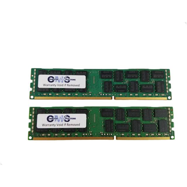 RAM MEMORY compatible with HP ProLiant DL120 G6 ECC Register B25 16GB 2X8GB