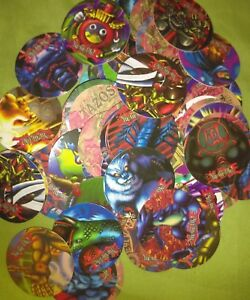 Details about Yu-Gi-Oh! pog Tazos Lot of 500 Made in venezuela