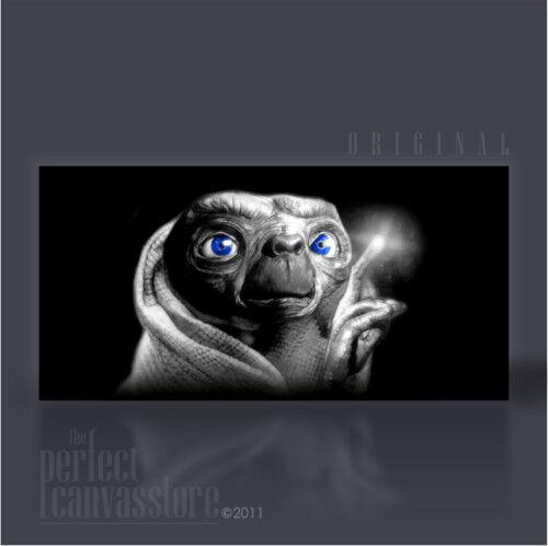 Et-géant emblématique sci-fi movie canvas art b art williams